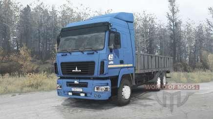 МАЗ 6312А9 для MudRunner