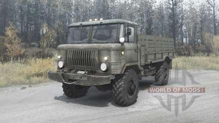 ГАЗ 66 для MudRunner