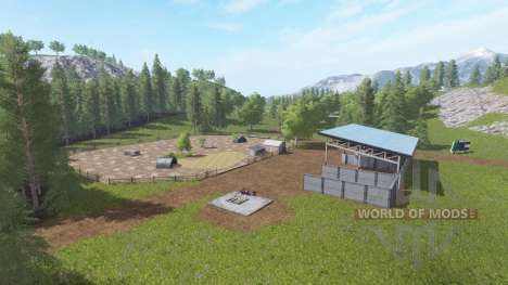 Woodmeadow Farm для Farming Simulator 2017