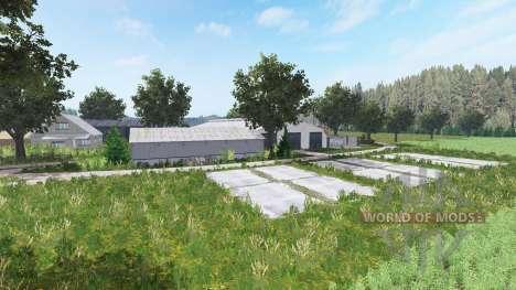 Kujawsko Pomorska Farma для Farming Simulator 2017