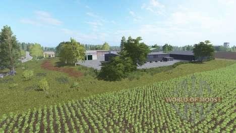 Фермерский городок для Farming Simulator 2017
