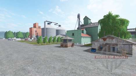 South Quebec для Farming Simulator 2017