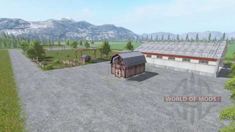 Flatwood Acres для Farming Simulator 2017