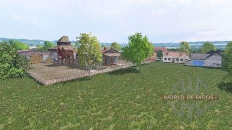 Warminska Village для Farming Simulator 2015