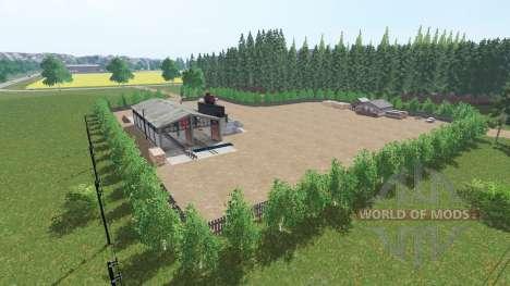 Hochebene Lindenthal для Farming Simulator 2017