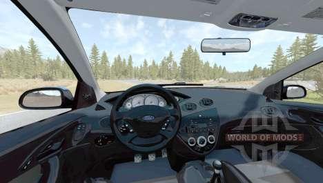 Ford Focus SVT (DBW) 2002 для BeamNG Drive