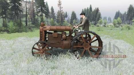 Фордзон-Путиловец для Spin Tires