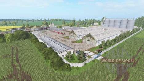 Kombinat Rolny Pomorze для Farming Simulator 2017