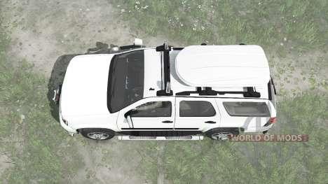 Chevrolet Tahoe (GMT900) 2007 для Spintires MudRunner
