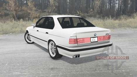 BMW 525iX 1991 для Spintires MudRunner