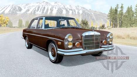 Mercedes-Benz 300 SEL 6.3 (W109) 1968 для BeamNG Drive