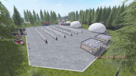 Poppendorfer Forst для Farming Simulator 2017