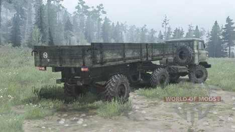 ГАЗ 66К для Spintires MudRunner