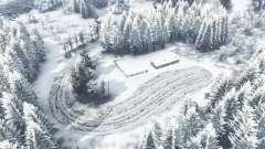 Зимняя сказка v0.95 для Spin Tires