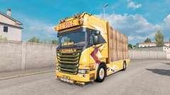 Scania R Topline Lupal для Euro Truck Simulator 2