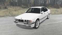BMW 525iX sedan (E34) 1991 для MudRunner