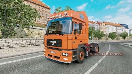 MAN F2000 19.414 FLS v1.0.4 для Euro Truck Simulator 2