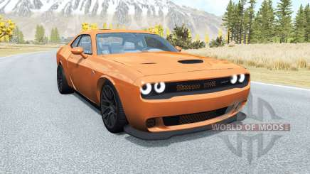 Dodge Challenger SRT Hellcat (LC) 2015 v2.0 для BeamNG Drive