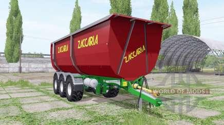 Zaccaria ZAM 200 DP8 Super Plus v1.3 для Farming Simulator 2017