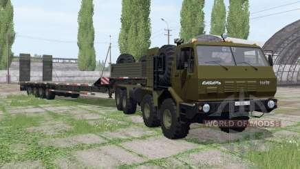 КрАЗ 7Э6316 Сибирь для Farming Simulator 2017