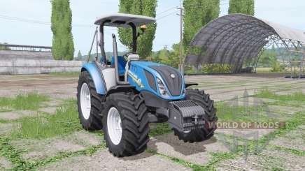 New Holland T5.120 without cab для Farming Simulator 2017