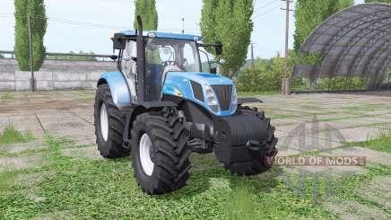 New Holland T7040 для Farming Simulator 2017