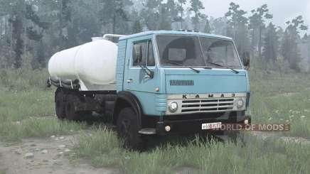 КамАЗ 53212 КО-505А для MudRunner