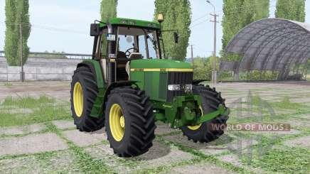 John Deere 6810 Continental для Farming Simulator 2017