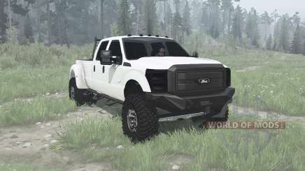 Ford F-350 Super Duty Crew Cab 2011 для MudRunner