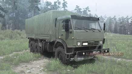 КамАЗ 53501 Мустанг для MudRunner