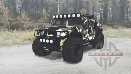 AM General HMMWV M1025 1984 off-road для MudRunner