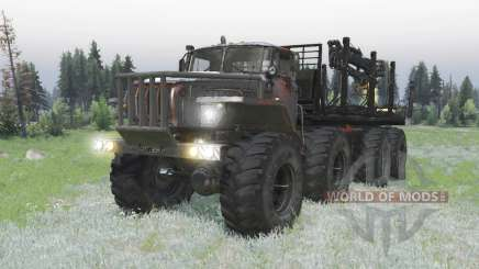 Урал Полярник 8x8 для Spin Tires