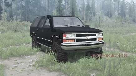 Chevrolet Suburban (GMT400) 1994 для MudRunner