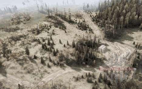 Рязанские болота v1.1 для Spintires MudRunner