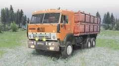 КамАЗ 5320 6x4 v2.0 для Spin Tires