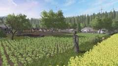 Настоящая польская деревня v2.1 для Farming Simulator 2017