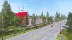 Pine Cove RUS для Farming Simulator 2017