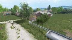 Warminska Village v1.1 для Farming Simulator 2015