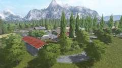 Забытая долина для Farming Simulator 2017