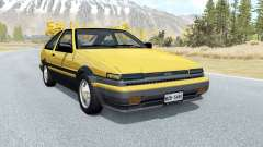 Toyota Corolla GT-S Sport liftback (AE86) 1985 для BeamNG Drive
