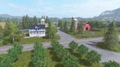 Woodmeadow Farm v2.5 для Farming Simulator 2017