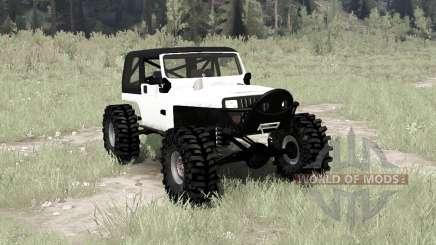 Jeep Wrangler (YJ) crawler для MudRunner
