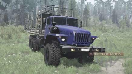 Урал-4320-41 для MudRunner