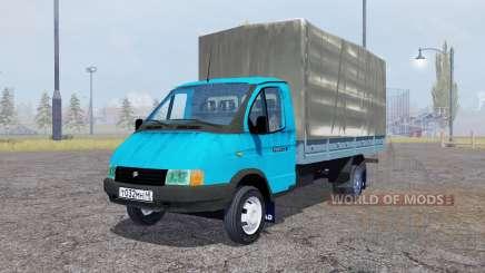 ГАЗ 3302 ГАЗель v2.0 для Farming Simulator 2013