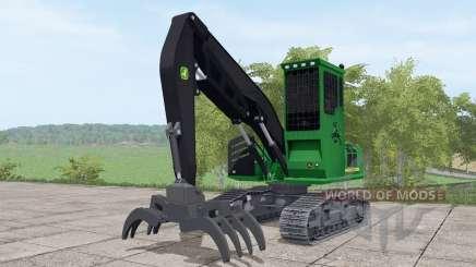 John Deere 2454D для Farming Simulator 2017