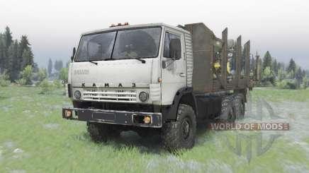 КамАЗ-5320 6x6 для Spin Tires