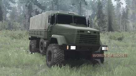КрАЗ-5131ВЕ для MudRunner