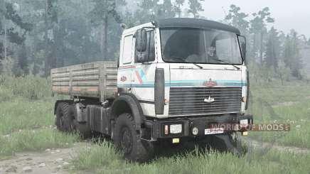 МАЗ 6317 6x6 для MudRunner