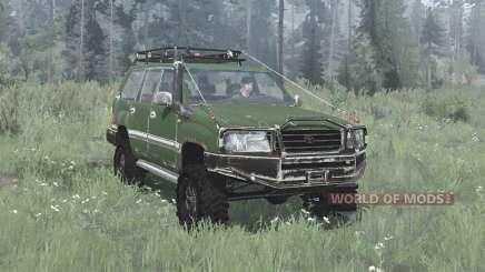 Toyota Land Cruiser 100 (J100) 2002 off-road для MudRunner