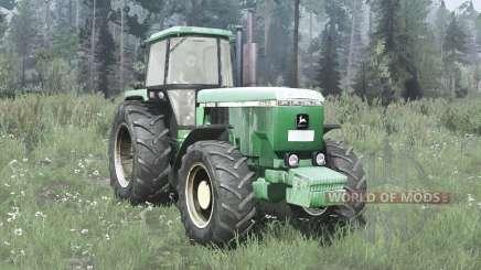 John Deere 4755 для MudRunner